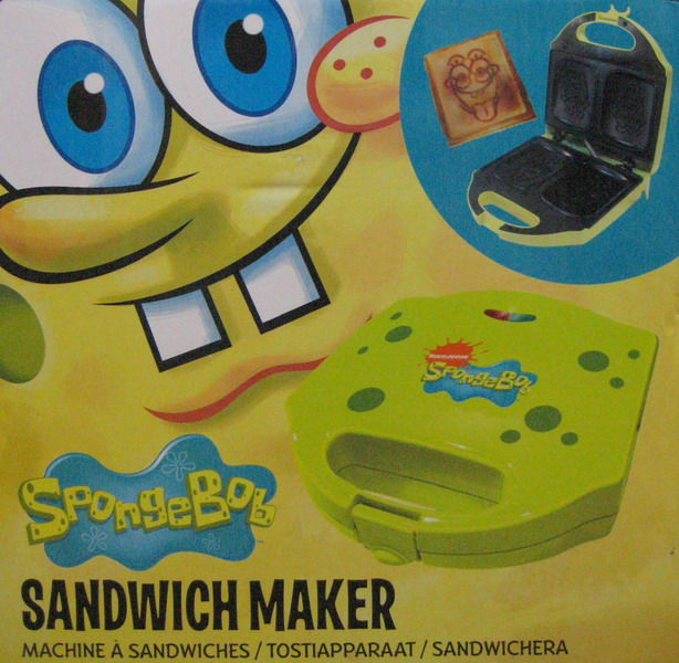 Spongebob Sandwich Maker 122464 Jual Sandwich Maker Murah