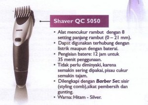 Philips Shaver QC-5050
