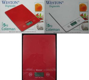 Weston Digital Scale Coleman